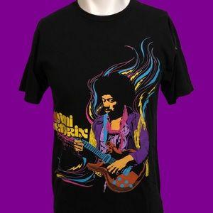 2007 Jimi Hendrix Colorful Painting Tee